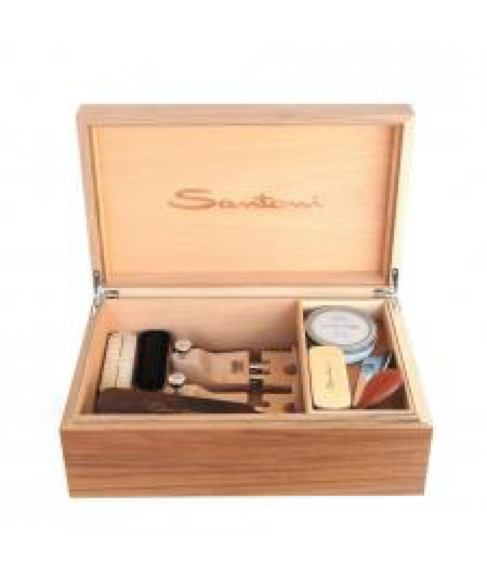 Santoni 鞋具护理箱