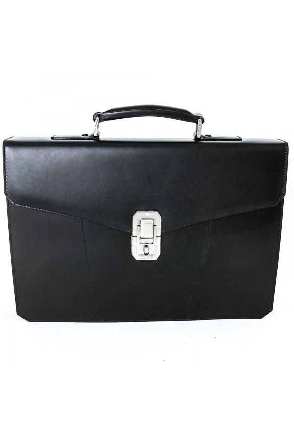 Santoni 办公室袋无烟煤灰色 (28605)
