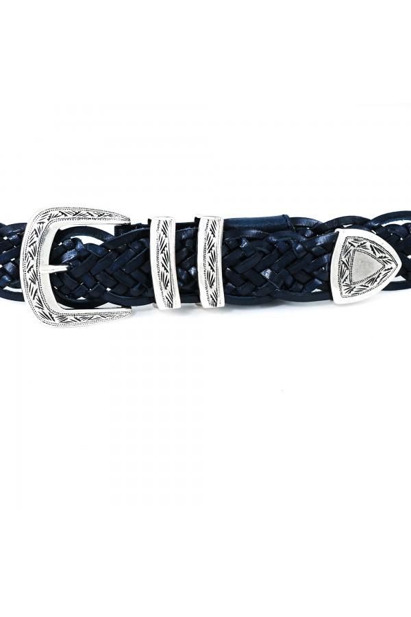 Brunello belt soft blue  (35113)