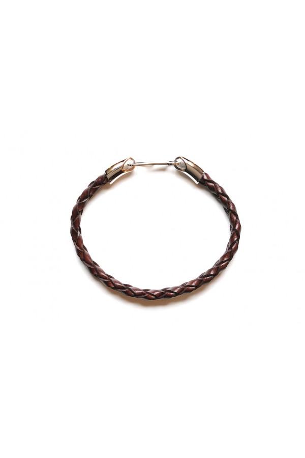 Santoni 手链 深棕色